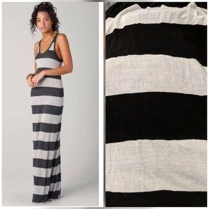Joie soft striped maxi tank dress